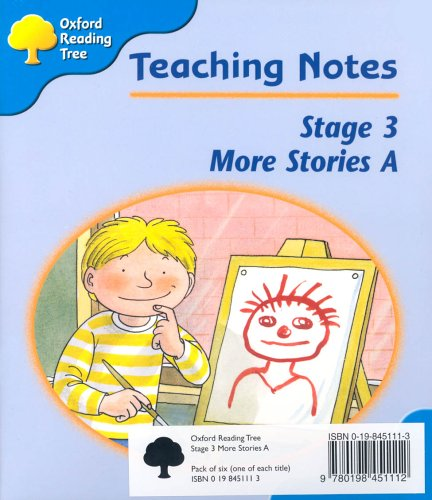 Oxford Reading Tree: Stage 3: More Storybooks: Pack A (6 books, 1 of each title)の詳細を見る
