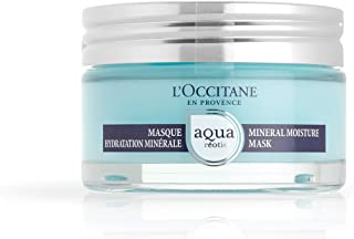 L'Occitane Hydrating Aqua Reotier Mineral Moisture Face Mask for All Skin Types, 2.7 oz