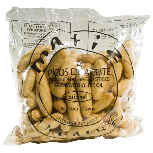 Traditional Spanish Picos de Aceite Traditional (Mini breadsticks) - 1 x 7 oz