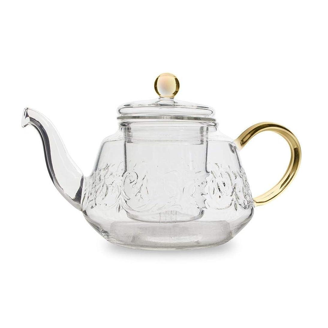 Winston Swirl Teapot wtih Amber Handle (20oz) diqj857658455147