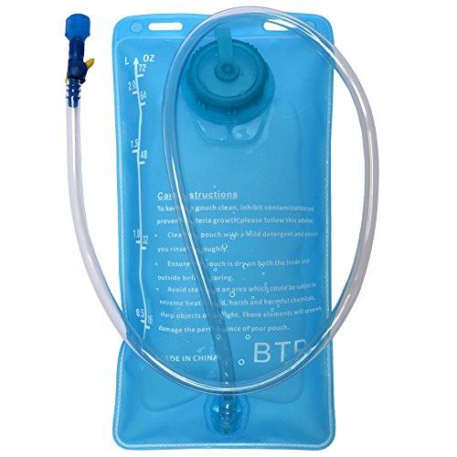 BTR HydroGo 2L Hydration Bladder Bag BPA Free Water Bag