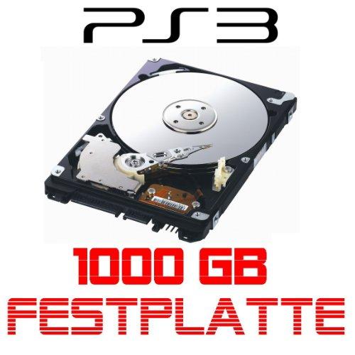 i.norys 1TB Festplatte für Sony Playstation 3, ALLE Baureihen inkl. PS3 Slim 1000GB