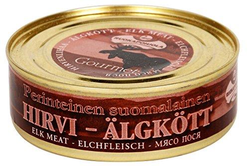 Ruokapohjola - Hirvi Konserve mit Elch-Fleisch (Dose 230 g)