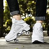 XRDSHY Zapatos de patinaje para adultos con luces LED...