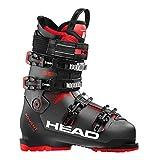 HEAD Advant Edge 95 Botas de esquí, Hombre, Gris Antracita, Negro y Rojo, 265