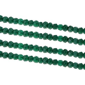 15 ACHAT Edelsteine Perlen DRAGON VEINS GRÜN 8mm Rondelle Facettiert G764
