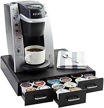 AmazonBasics Coffee Pod Storage Drawer for K-Cup Pods, 36 Pod Capacity