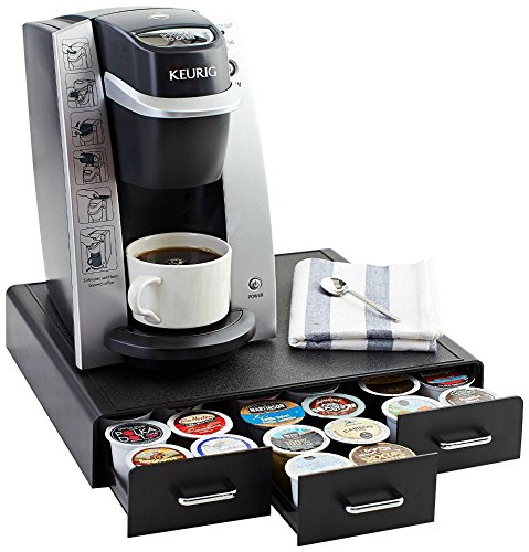 Amazon Basics Coffee Pod Storage Drawer for K-Cup Pods - 36 Pod Capacity