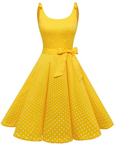 Bbonlinedress 1950 Vintage Polka Dots Dames Pinup Retro Rockabilly Jurk Cocktailjurken