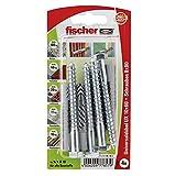 Fischer 77857-10 x 60 mm ux enchufe universal sk - multicolor (4 piezas)