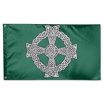 Celtic Cross Knot Irish Decorative Flag House Flag Yard Banner 3  X 5