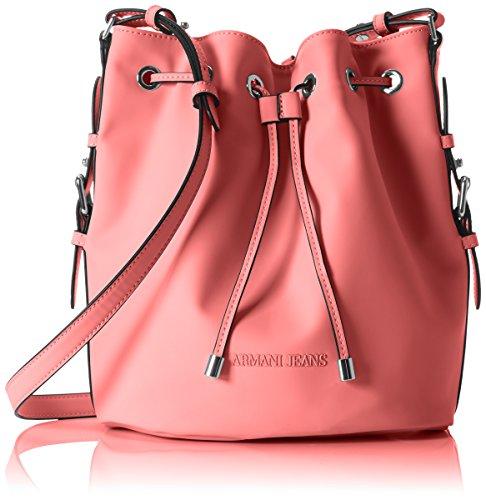 Armani Jeans 9222127P772 Damen Henkeltaschen 18x29x25 cm (B x H x T), Pink (LIGHT GERANIO 08170)