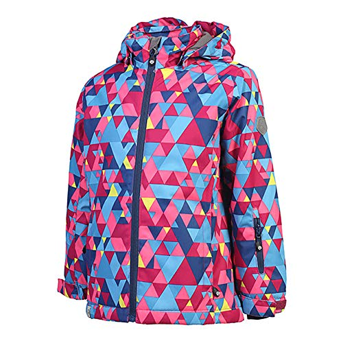 Color Kids. Gepolsterte Ski Jacke Riella, Air-Flo 8000, Rasberry, Gr. 122