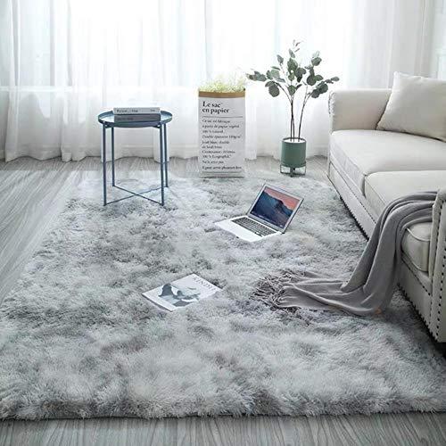 Alfombra gruesa para sala de estar alfombra de felpa niños cama mullido piso Alfombras ventana cabecera decoración del hogar Alfombras suave terciopelo estilo5,120x200cm, China