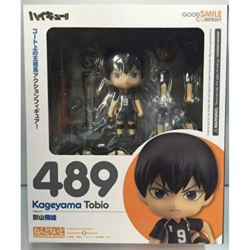 Haikyu Anime Nendoroid Hinata Shoyo #461 Kageyama Tobio #489 Figuras de acción lindos juguetes coleccionistas Brinquedos muñeca deportiva con caja al por menor 2