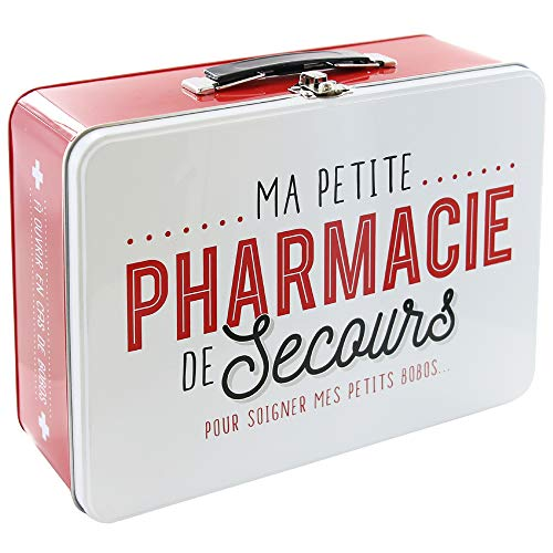 LA BOITE A BT6630Caja Metálica Texto francés Pharmacie