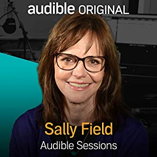 Sally Field audiobook cover art