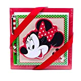 Hallmark Minnie Mouse Notepad Set (3 Notepads, 1 Pen) for Birthdays, Christmas and More