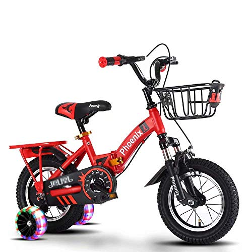 Sale!! FJH Rocking Horses Children Bicycle Wear-Resistant Anti-Skid Protection Foldable Freestyle Ki...