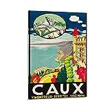 Caux Switzerland Lithos A Marsens Lausanne 1921