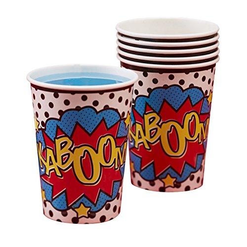 Comic Superhero - Paper Cups