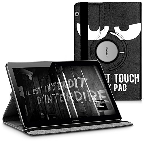 kwmobile Hülle kompatibel mit Huawei MediaPad T3 10 - 360° Tablet Schutzhülle Cover Case