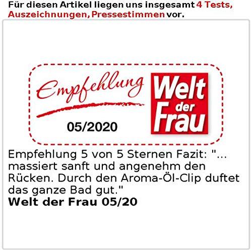 newgen medicals Whirlpool Matten: Whirlpoolmatte für die Badewanne (Luftsprudelmatte) - 5