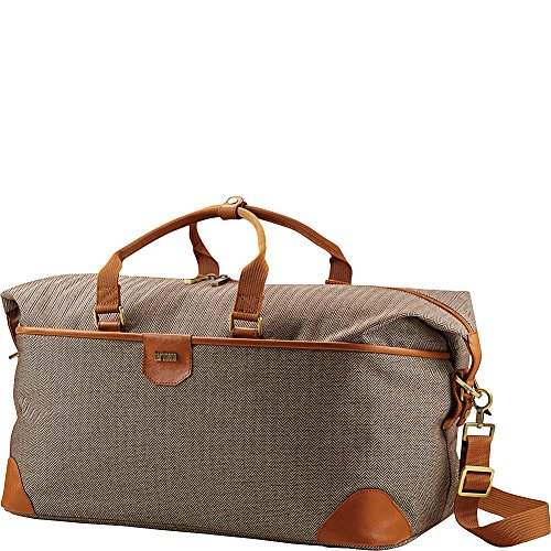 Hartmann Luxe Softside Weekend Duffel, Terracotta Herringbone, One Size