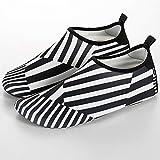 Calcetines de Buceo Damas Inferior Suave de Buceo al Aire Libre río vadea los Zapatos por la Rueda de Ardilla Piscina Ceñido Fácil Ajuste Calzado (Color : Black, Size : 40-41)