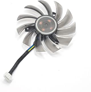 inRobert 75mm T128010SU Ventilador de Tarjeta Gráfica Ventilador de Refrigeración para Gigabyte NVIDIA GeForce GTX 760 770 780 670 580 GPU