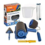 TOURACE 9Pcs/set Paint Roller Set with Sticks Paint Roller Pro Transform Your Room in Just Minutes...