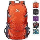 POKARLA 40L Foldable Rucksack Travel Hiking Daypack Durable Lightweight Walking Camping Folding Sports