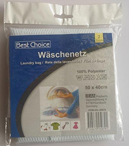 Wäschenetz XL 2 Stück m. Reißverschluß
