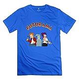 Men Futurama Design 100% Cotton Deepheather T Shirt by Mjensen