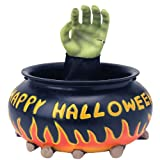 Animated Candy Bowl Cauldron with Hand
