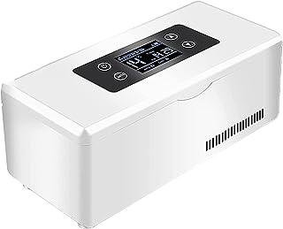 Insulinkylare, bärbar medicin kylskåp Inbyggt batteri USB-laddning Bil kylskåp Resa hem Bil kylväska/liten resebox för med...