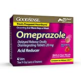GoodSense Omeprazole Delayed Release Orally Disintegrating Tablets 20 mg, Strawberry Flavored