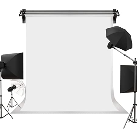 5ft x 7ft Solid Black Photography Backdrop with Light Effect Discount Photo Backdrop Prop Item 861