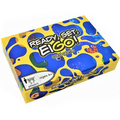 READY, SET, EIGO! Card Game 「レディー、セット、エイゴ! カードゲーム」英語カードゲーム 楽しく英語を学ぶゲーム (128 cards included)
