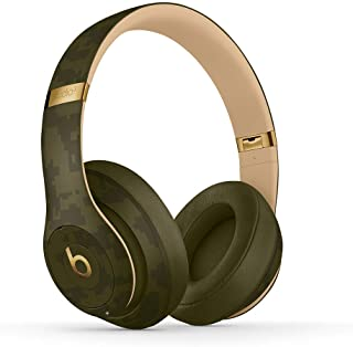 Beats Studio3 Wireless Noise Cancelling Over-Ear Headphones - Camo Edition (Forest Green)