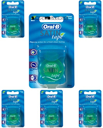 Oral-B Satinband Mint, (25 m, 200 g) - PACK 6