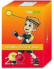 TEKXYZ Pelota De Reflejos De Boxeo Contendiente Boxing Reflex Ball Contender