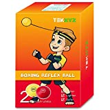TEKXYZ Balle De Réflexe De Boxe Concurrent YR Boxing Reflex Ball Contender YR