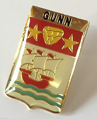 Écosse Famille Clan Nom Gunn Aigrettes Badge