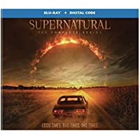 Supernatural: The Complete Series 58-Disc Blu-ray + Digital Box Set (2021 release)