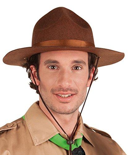 Boland 01383 - sombrero scout adulto, tamaño estándar, marrón