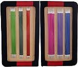 Knit Pro 20 cm Aluminio Zing de Tejer de Doble Punta para Juego