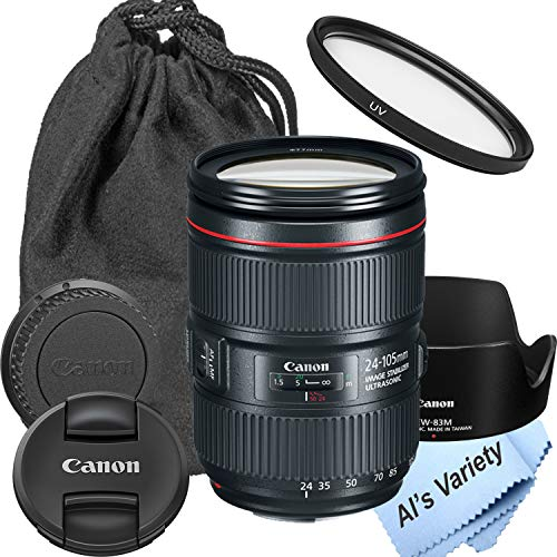Canon EF 24-105mm f/4L is II USM Lens (New in White Box) (7pc)