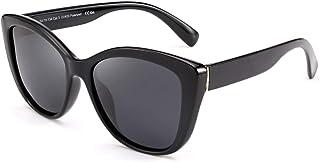 FEISEDY Clásico Gafas de Sol Polarizadas Gafas de Sol Ojos de Gato con Lentes de Protectora 100% UV400 para Mujer y Hombre...