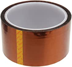 Foxnovo High Temperature Heat Resistant Tape Polyimide Film Adhesive Tape (50mm33m)